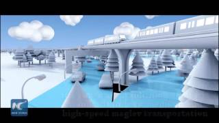 Chinese to build 600 km/h maglev train