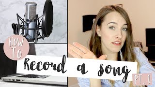 A BEGINNER'S GUIDE to Recording (Part 1: Equipment)