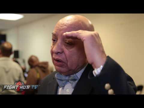 Joe Cortez reacts to Golovkin vs. Jacobs decision & says Gonzalez v Rungvisai a black eye
