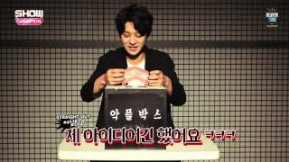 [ENG SUB] Show Champion 'Cruelty Box' (악플박스) - Jung Joon Young reading antifans' comments