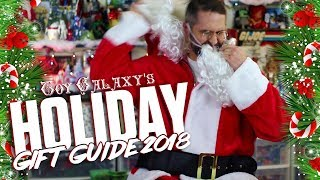 Toy Galaxy's Holiday Gift Guide For The Collectors Friends and Family