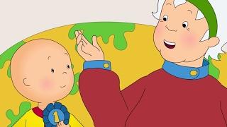 Funny Animated cartoon | Caillou Dances with Grandma | WATCH CARTOON ONLINE | Cartoon for Children