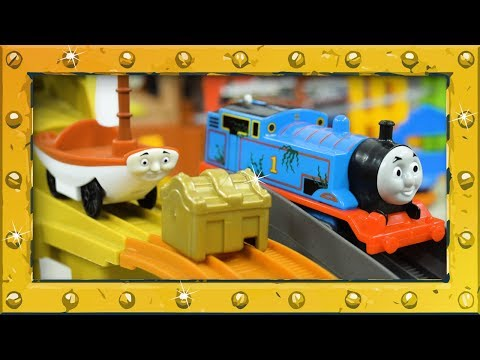 Who is the Best Treasure Catcher? | Treasure Chase Set | TrackMaster | Thomas and Friends