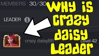 WHY IS CRAZY DAISY LEADER? MARVEL Contest of Champions (iOS/Android)
