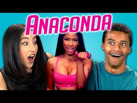 Xxx Mp4 Teens React To Nicki Minaj Anaconda 3gp Sex