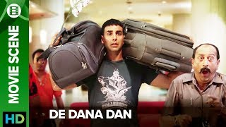 Akshay plans his million dollar plan | De Dana Dan | Movie Scene