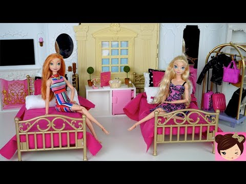 Xxx Mp4 Barbie Evening Routine Princess Bedroom Frozen Queen Elsa Anna Doll Grand Hotel 3gp Sex