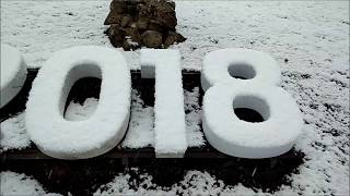 первый снег в Ессентуках 2018 году