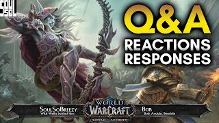 August 23 Battle for Azeroth Developer Q&A Recap with Reactions! - World of Warcraft