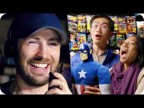 Captain America Pranks Comic Fans with Surprise Escape Room  Omaze