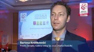 Wywiad - Bartosz Królikowski - Galeria Usług Sp. z o.o. (marka DuoLife)