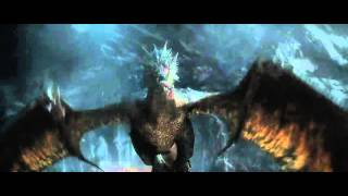 The smaug I'm fire clip from desolation of smaug