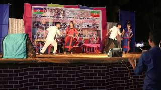 A new Tripura chakma dance video||TCSA freshers||2017|| By TCSA group members