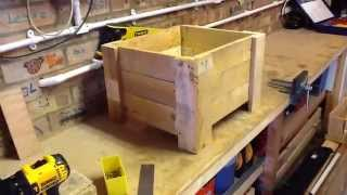 Pallet Planter Box (Limited Tools Project)