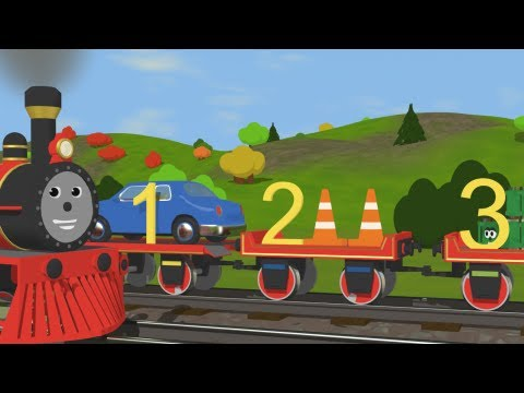 Learn to Count with Shawn the Train Fun and Educational Cartoon for Kids