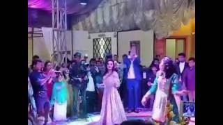 Minal khan heating up dance floor at Amin Khan Engagement
