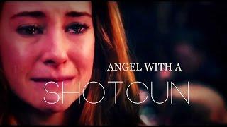 ● tris & tobias || angel with a shotgun