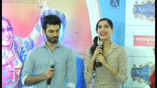 Sonam in Payal Singhal - promotes Khoobsurat at Viviana Mall Thane