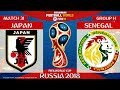 Japan vs Senegal ⚽️ 🔴 | FIFA World Cup Russia 2018 | Match 31 | 24/06/2018