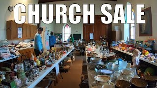 Rummage Sale Treasure Hunting  - New Spot New Location New Goods