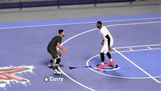 Stephen Curry vs LeBron James - 1vs1 Street Basketball - NBA 2K18 Gameplay PC