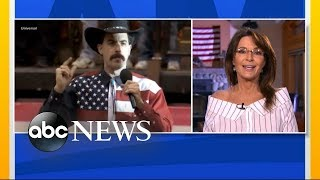 Sarah Palin responds to Sacha Baron Cohen prank