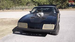 Last of the V8 Interceptors - Mad Max Car - Awesome Burnout and Drift