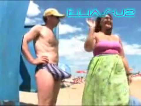 Pegadinhas Picantes SBT Tarado na praia rsrsrs