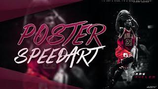Jimmy Butler Poster (Photoshop Speedart) - Free Download!