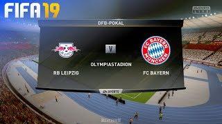 FIFA 19 - RB Leipzig vs. FC Bayern München @ Olympiastadion (DFB Pokal Final)