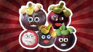 Mangosteen Finger Family Song Nursery Rhymes for Kids | Videos for Kids