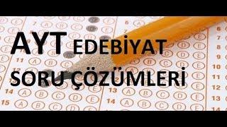 LYS Milli Edebiyat Soru Çözümleri (Sınav Formatında)