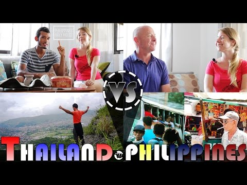 LIVING IN THAILAND VS PHILIPPINES Interview ADITL