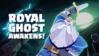 Clash Royale: Royal Ghost Awakens! (New Legendary Card!)