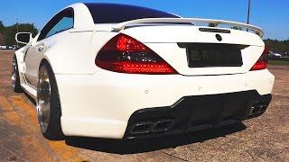Mercedes SL65 AMG Sound V12 Biturbo by AC Performance Acceleration Exhaust Revs R230