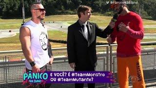 Disputa - Bambam vs Léo Stronda - Disputa puxando um carro - Panico Na Band HD 19 06 2016