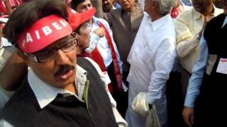 Massive Morcha to Parliament on 23-2-2011 -- GRAND SUCCESS