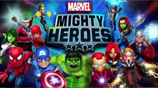 Marvel Mighty Heroes - (by DeNA Corp) iOS/Andriod Trailer HD Gameplay