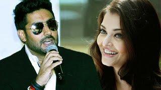 Abhishek Bachchan's FUNNY Reply On Aishwarya Rai's SUCCESS