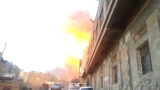 قصف على جبل نقم  واستخدام القنبلة النيترونية