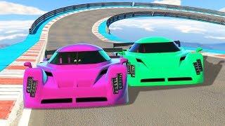 GIRLFRIEND vs. BOYFRIEND RACE BATTLE! (GTA 5 Funny Moments)