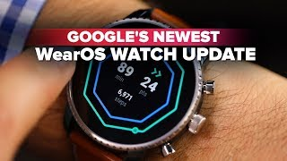 Google's newest WearOS is here