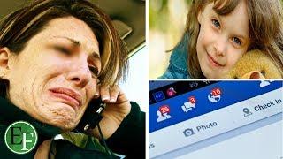 عندما ستشاهد ماذا حدث لطفلة هذه الأم بسبب الفيسبوك سيجعلك توقف حسابك فيه للأبد! !