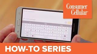 Samsung Galaxy J3 (2016): Sending a Text Message (4 of 12) | Consumer Cellular