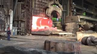 Turbine Shaft Forging