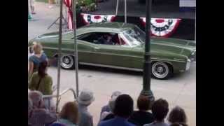 68 Pontiac Catalina - Greenfield Village Motor Muster - Pass in review.