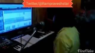 Jayesh singh bhojpuri song recoding time