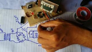 How create simple charger circuit 12V for battery 12V 5AH to 10AH | Electronic life hacks