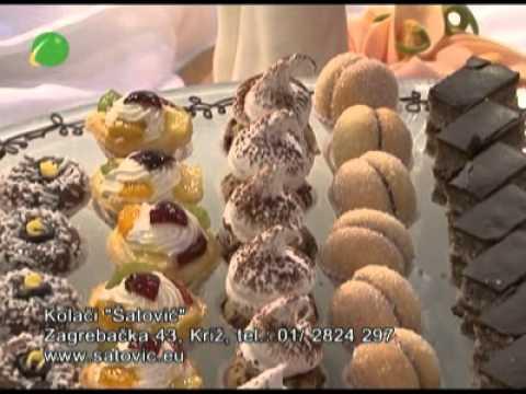 Svijet ljepote Kolači Šatović Svadbena torta i kolači za svatove