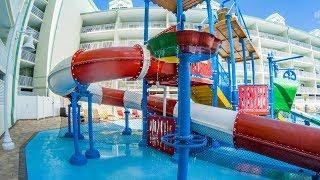 Splash Harbour Water Park - Treasure Cove Splash Zone | Kids Slides Onride POV